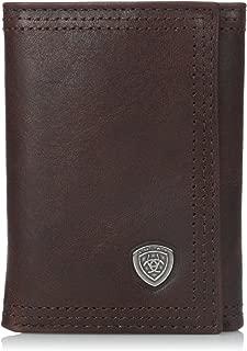 Ariat Men's Rowdy Trifold Copper Wallet