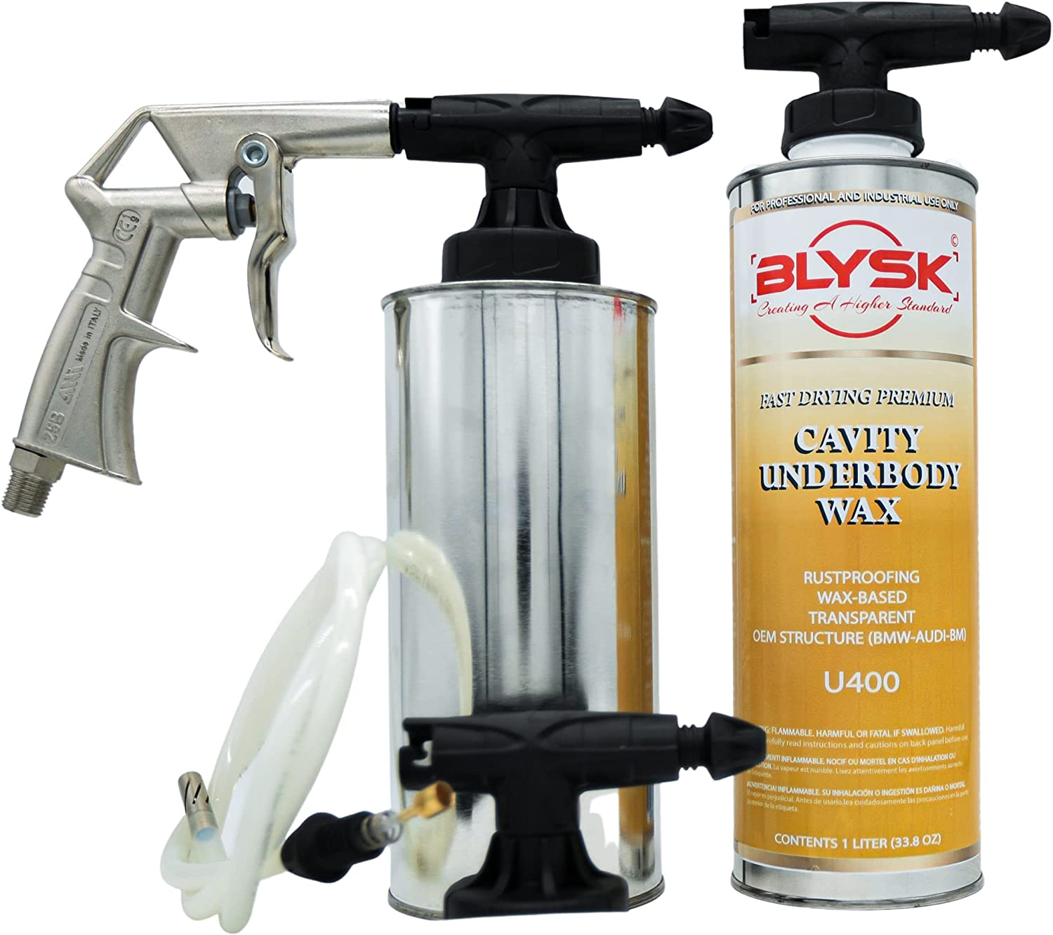 BLYSK Protection Pack – Spray and Unde Cavity Kit Equipment sold out 100% quality warranty
