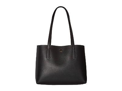 Kate Spade New York Molly Small Tote (Black) Handbags