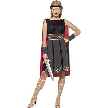 Perfetto per Cosplay Taglia Unica 160-180 cm thematys Costume da Guerriero Romano per Donna Carnevale e Halloween