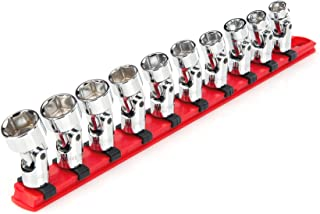 TEKTON 3/8 Inch Drive Universal Joint Socket Set, 10-Piece (10-19 mm) | SHD91119