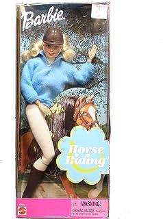 Barbie HORSE RIDING DOLL w Riding Breeches, Helmet & More (2000)