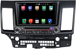 8 Inch TouchscreenAndroid 10.0 OS Car Radio Compatible with Mitsubishi Lancer(2006-2018), 4GB RAM+64GB ROM, DVD Player Blu...
