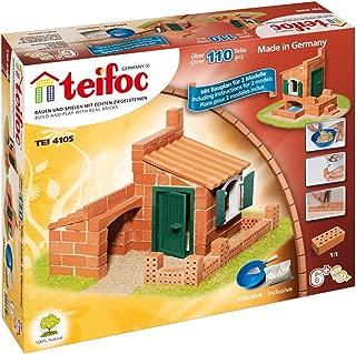 Teifoc TEI 4105 - Juego de construcción (110 Piezas, 2 Modelos) [Importado de Alemania]