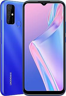 DOOGEE X96 Pro (offiziell) Handy Ohne Vertrag Android 11 13MP Quad Kamera 6,52 Zoll HD + Waterdrop Display 5400mAh Akku 4GB RAM + 64GB ROM 2 Nano + TF Ultra Dünn Smartphone [2021](Blau)