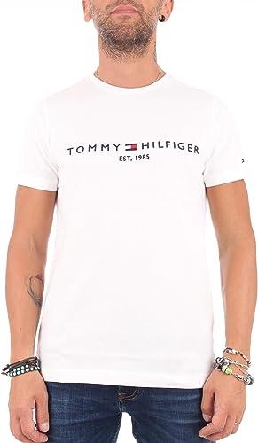 Tommy Hilfiger Organic Cotton Logo T-Shirt Camiseta para Hombre