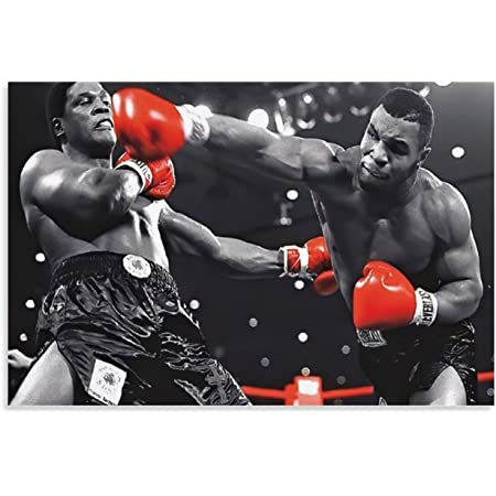 Y673 Art Wall Poster Mike Tyson Boxer Battle Motivational Quote Boxing Sport