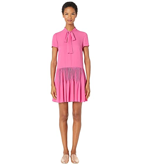 RED VALENTINO Double Georgette Dress