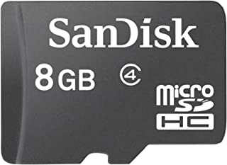 Sandisk OGO Flash Memory Card 8 GB MicroSDHC, Black