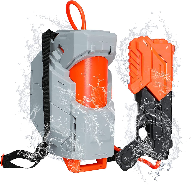 TINLEON Pistola de Agua 2800CC Soaker: Water Blaster Super Squirt 2800CC Regalos de Alta Capacidad hasta 26 pies de Largo Alcance de Disparo para niños Adultos niños niñas