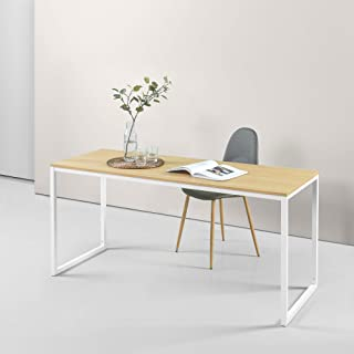 Zinus Jennifer Modern Office Soho Desk Laptop Computer Study Student Table Wood Metal - Natural 160cm