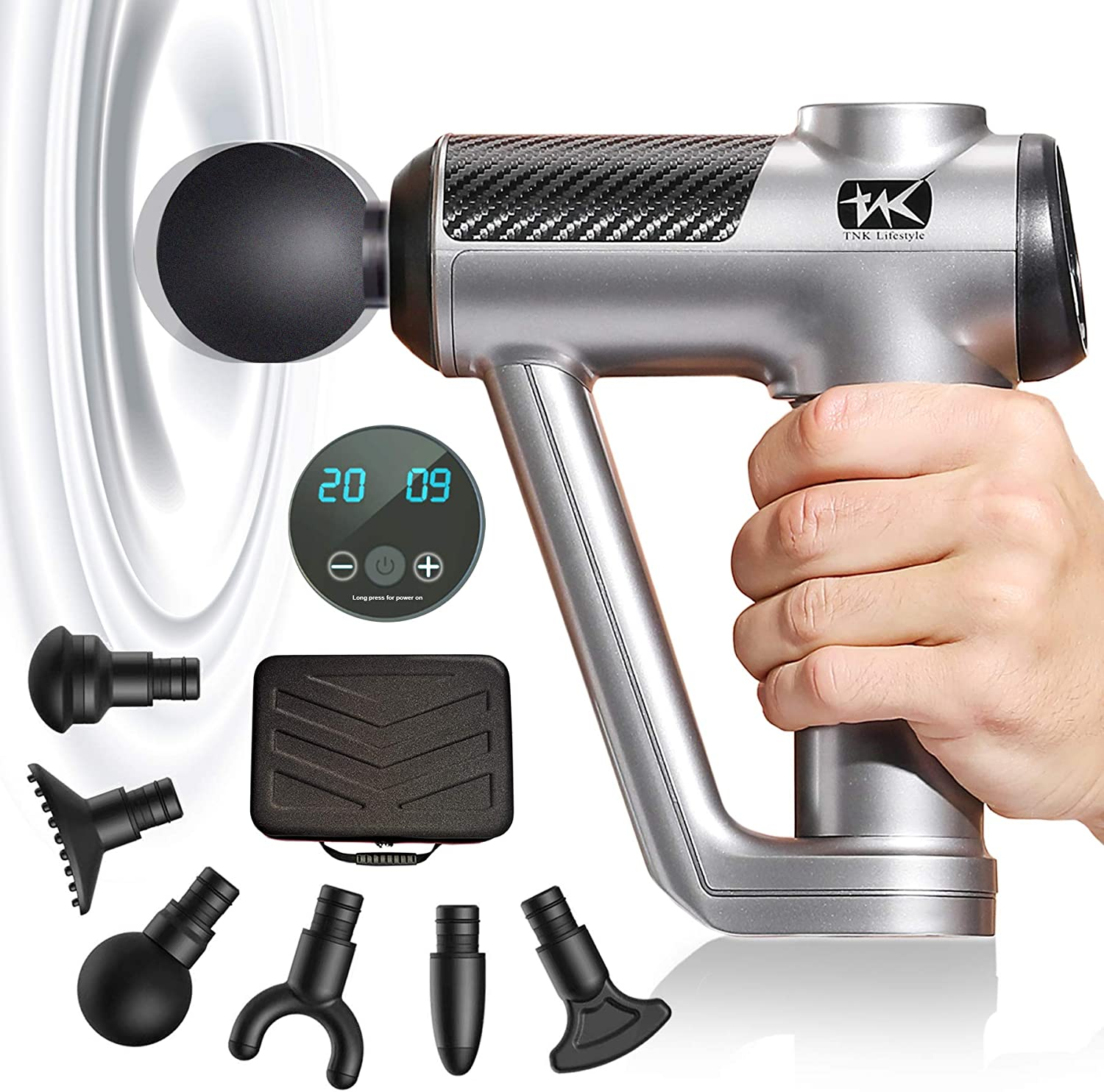 TNK Massage Gun- Upgraded Tissue Professional- Deep Manufacturer regenerated product Discount is also underway Percussion