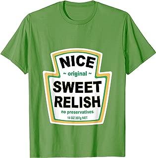 Relish Costume Tee Matching Ketchup Mustard Mayonnaise Group