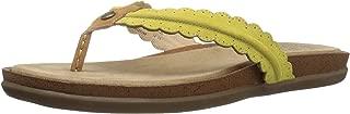 bass leather flip flops