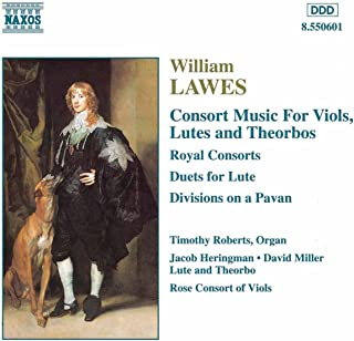 Consort Music for viols, lutes and theorbos
