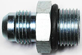 """AN-6 TO 5/8""""-18 Boss Power Steering Adapter Fitting With O-Ring"""