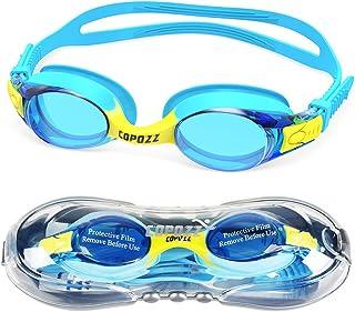 COPOZZ Kids Swimming Goggles, Child Swim Goggles Anti Fog UV for Kids Toddler