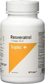 Trophic Resveratrol + Ellagic Acid 60 Veg Capsules