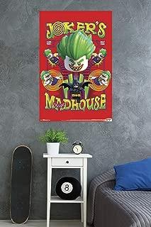 Trends International Lego Batman-Madhouse Clip Wall Poster, 22.375