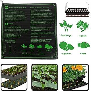 Xigeapg Garden 50.8 X 25.4 Cm Tapis Chauffant Imperm/éable Tapis de Croissance des Plantes Clone de Propagation de Germination de la Graine Coussin Chauffant de D/émarreur-Prise Europ/éenne