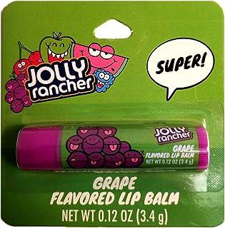 Taste Beauty (1) Stick Jolly Rancher Grape Candy Flavored Lip Balm Gluten Free - Purple Tube Carded - Net Wt. 0.12 oz