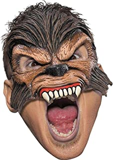 Wolfman Werewolf Halloween Costume Adult Scary Mask