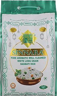 Sinnara White Long Grain Basmati Rice, 5 Kg