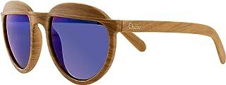 Chicco - Chicco - Gafas de Sol Infantiles Para Niños De 5 años, Con Montura flexible y Lentes Anti Arañazos, Color Madera Azul