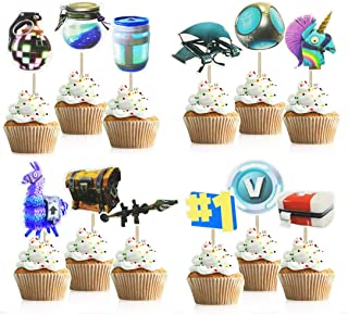 Printable Fortnite Birthday Party Decoration Package Party
