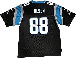 Greg Olsen Signed Jersey - Home Black - JSA Certified - Autographed NFL Jerseys