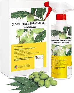 CLOSTER® Spray de Aceite de Neem Nuevo 2020 Insecticida Natural para Plantas en Jardín y Balcó...