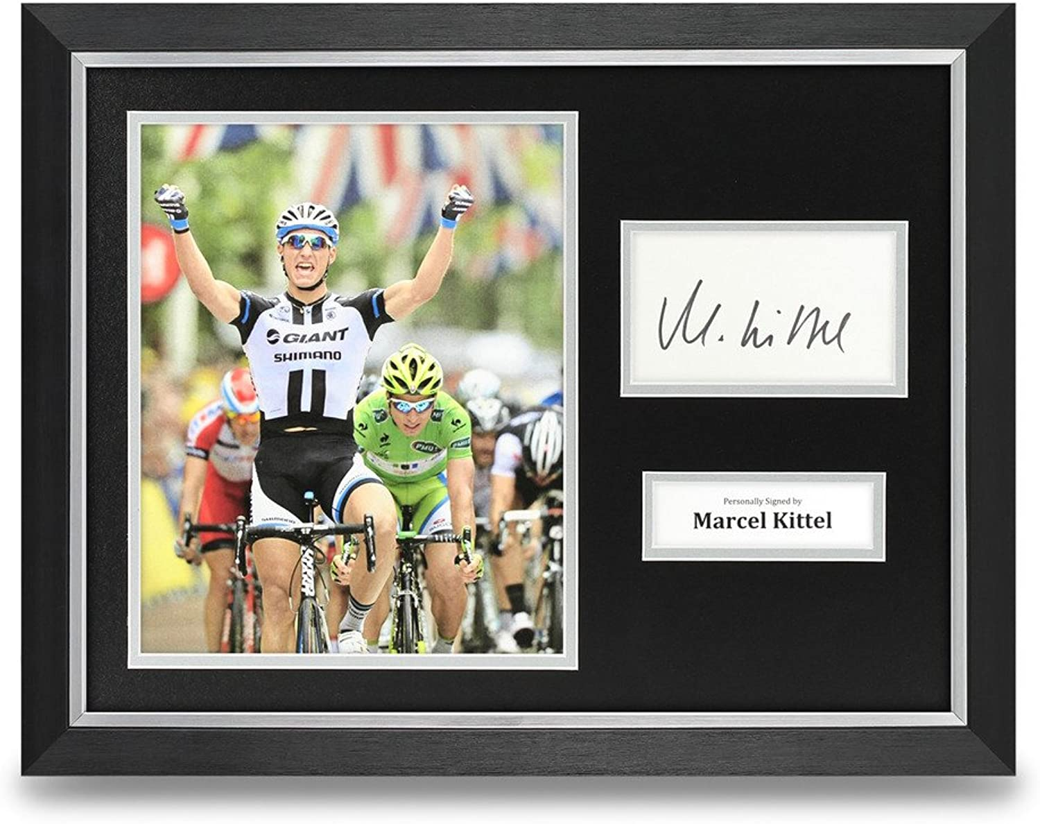 Marcel Kittel Signed Photo Framed 16x12 Cyclist Autograph Memorabilia COA