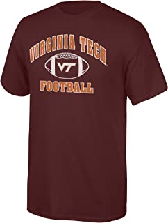 Elite Fan Shop NCAA Team Color Football T-Shirt