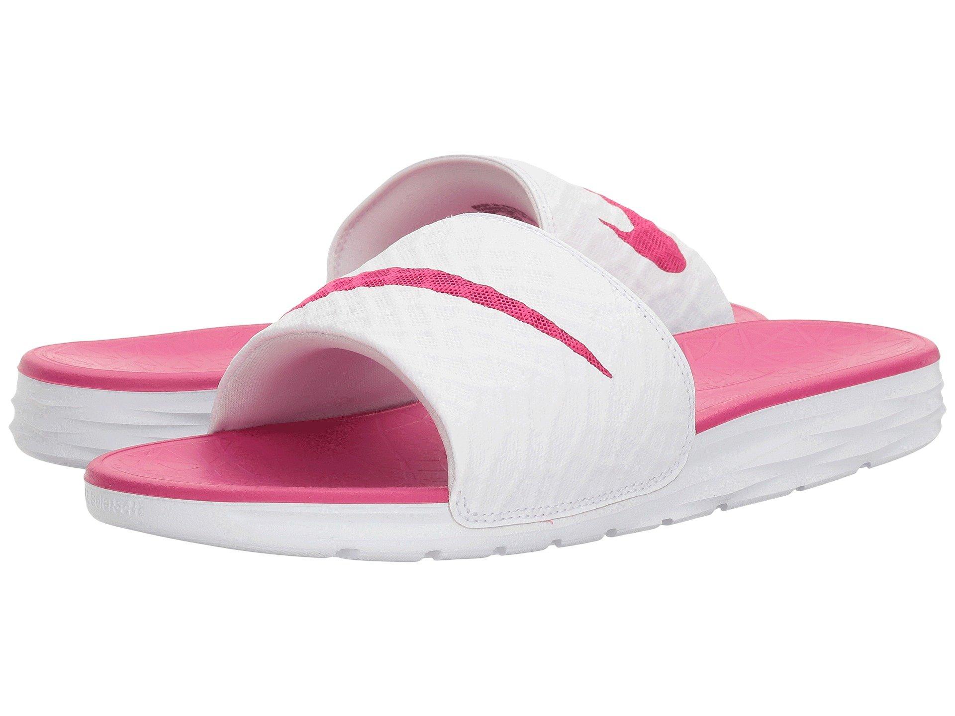 White Nike fireberry Slide Solarsoft 2 Benassi FFqx1I4