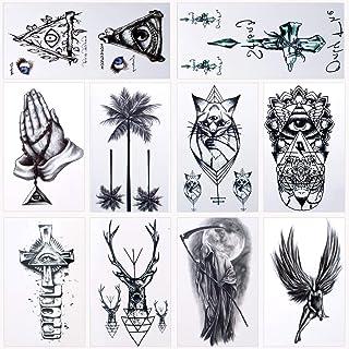 36 Blätter Wasserdicht Temporäre Tattoos Fake Tattoos Body