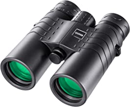 QUNSE Traveler HD Waterproof Binoculars - 8X42 Large Ocular, Large Object Lens, Crystal Clear Large View - Compact for Bird Watching Clearly - Great for Outdoors, Vocal Concert, Tour and Hunting
