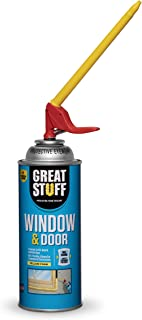 window door spray foam