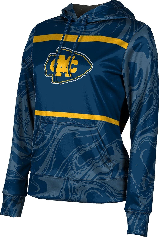 ProSphere Mississippi College University Girls' Pullover Hoodie, School Spirit Sweatshirt (Ripple)