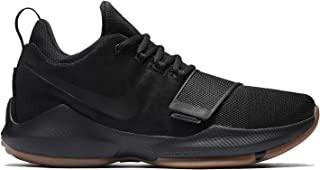 62e67a65089d Nike Mens Paul George PG1 Basketball Shoes Black Anthracite Gum Light  Brown Black