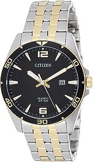 ساعة كوارتر للرجال من ستيزين، بعرض انالوج وسوار من الستانلس ستيل - موديل BI5059-50E