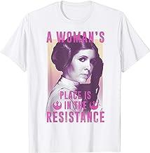 Star Wars Princess Leia Resistance T-Shirt