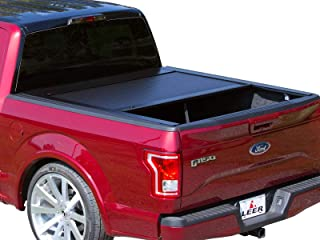Pace Edwards JRFA19A45 Jackrabbit Tonneau Cover Kit Incl. Canister/Rails Aluminum Roll Formed Panels Retractable Black Jackrabbit Tonneau Cover Kit