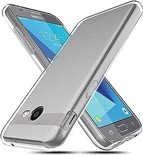 OEAGO for Samsung Galaxy J3 Emerge / J3 Prime / J3 Mission / J3 Eclipse / J3 2017 / J3 Luna Pro/Sol 2 / Amp Prime 2 / Express Prime 2 Case, Ultra Slim Thin Premium Flexible Soft TPU Case (Clear)