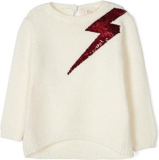 Zippy Meisjes Gebreide trui Mier Wit Sweatshirt