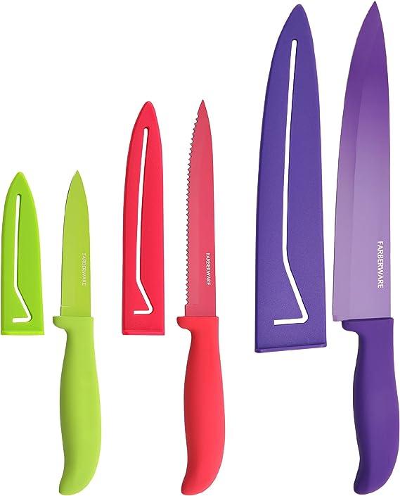Farberware 5077243 Classic Color Kitchen Knife