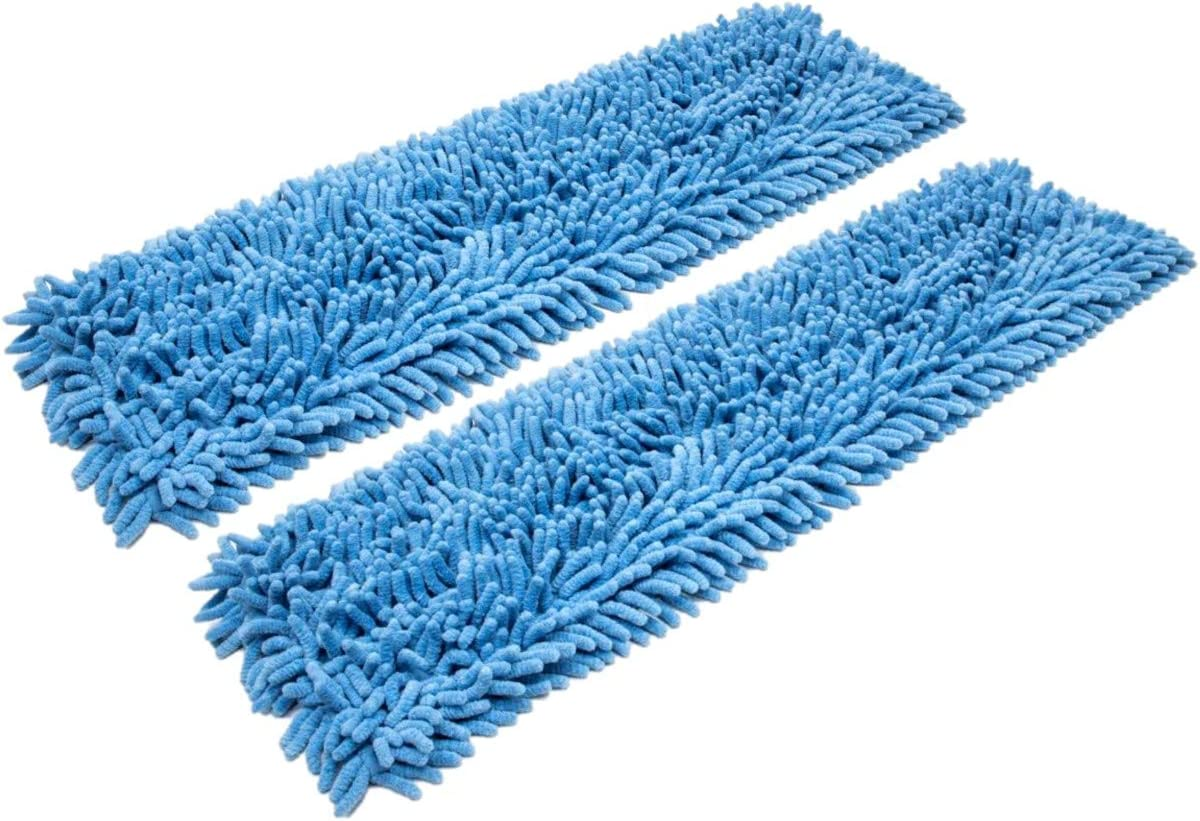 Real Clean 24 Inch Chenille Microfiber of 2 Mop Wet Pad Pack Beauty products Tulsa Mall