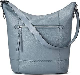 Handbags for Women Soft Genuine Leather Designer Bucket Tote Purses Ladies Shoulder Bag