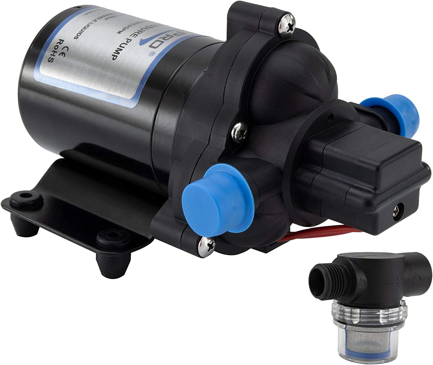 All items in the store Max 69% OFF RecPro RV Water Pump 3.0 GPM 12V Cam Self-Prime