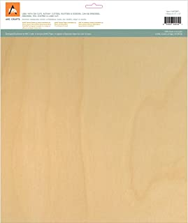 Arc Crafts BARC Wood Sheet W/Adhesive Backing 12