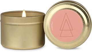 Paddywax Element Collection Scented Soy Wax Travel Tin Candle, 2-Ounce, Fire/Tangelo and Oud